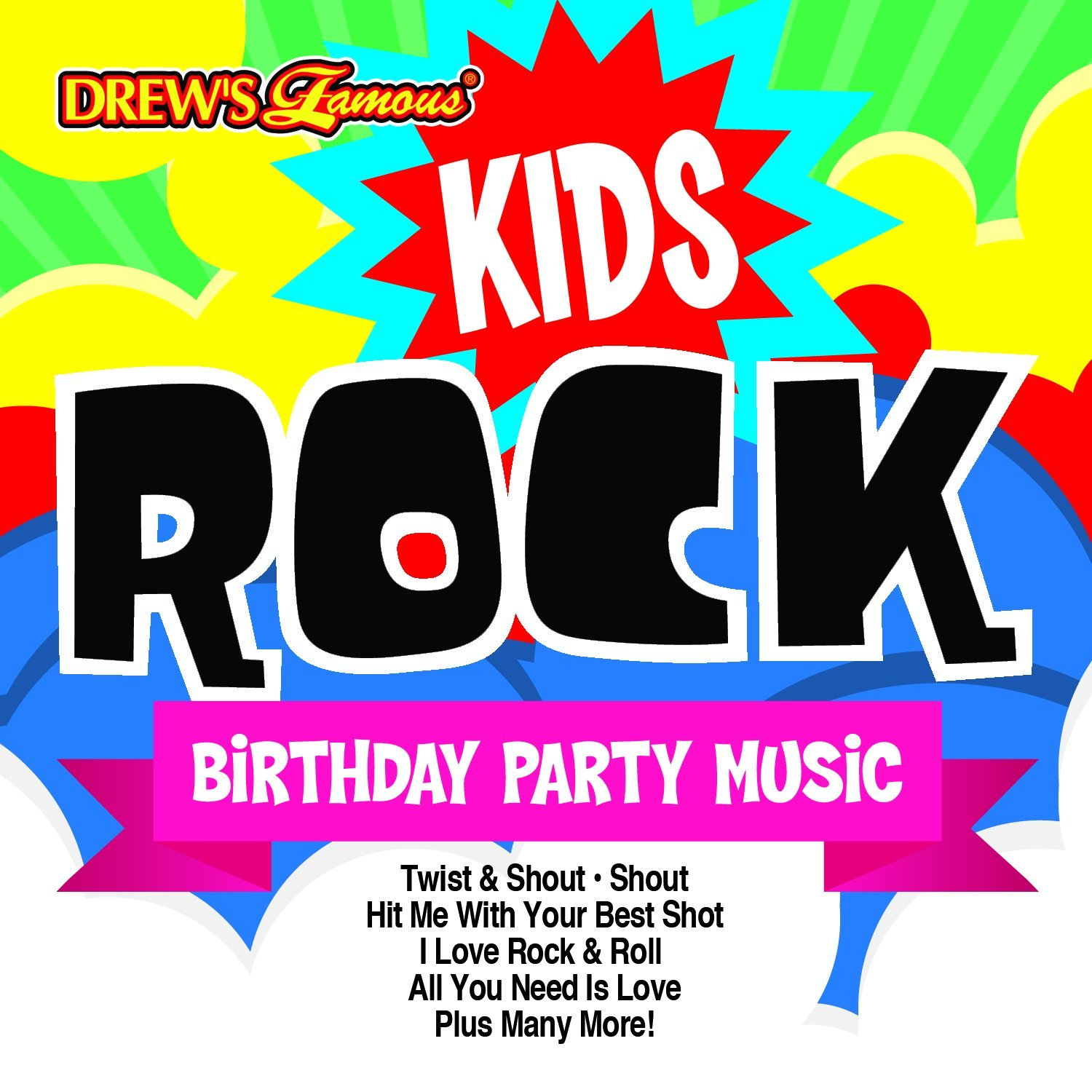 Drew's Famous Kids Rock Birthday Party Music